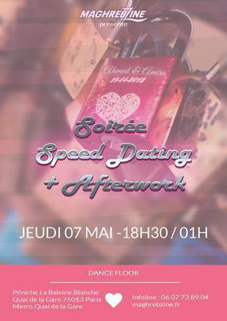 soirée speed dating paris vendredi