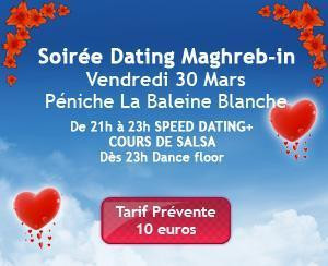 soirée speed dating maghrebin naknada za povezivanje čartera