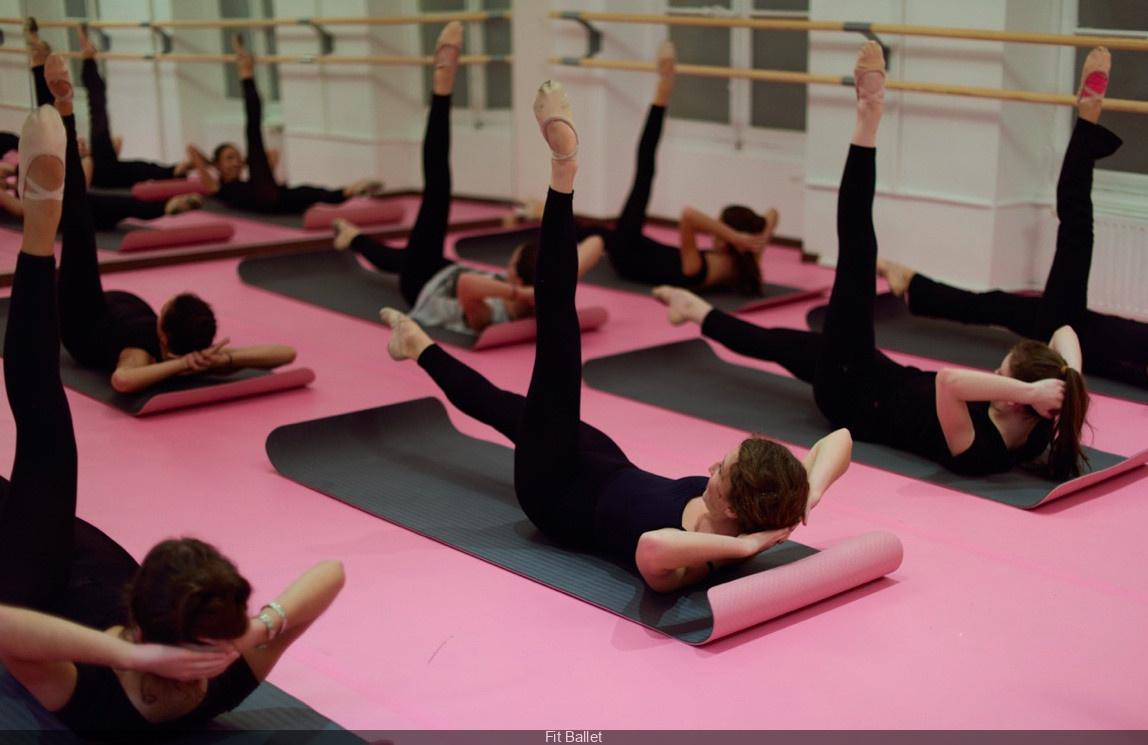 Fit Ballet classes at Paris Galeries Lafayette Haussmann ...