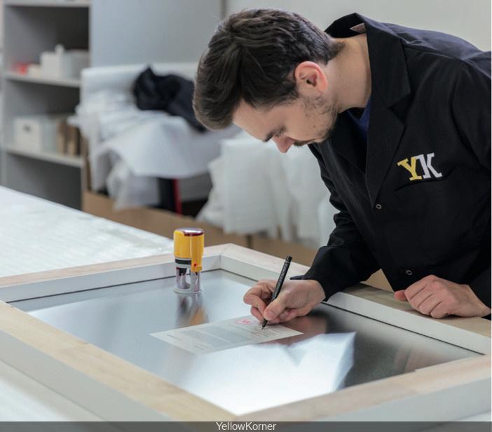 Yellowkorner Paris Francs Bourgeois journées des métiers d'art 2018 chez yellowkorner