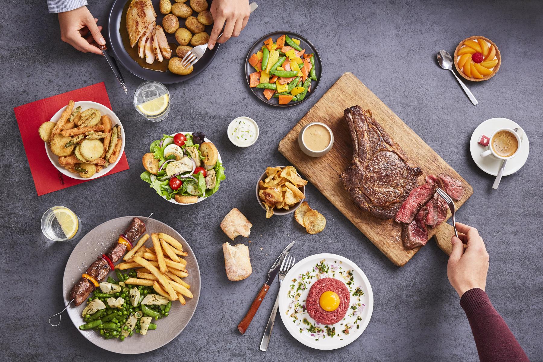 Présente essentiellement en France, l'enseigne compte plus de 130 restaurants, dont 50% en franchises. Elle est également présente en Côte d'Ivoire, au Maroc, en Algérie, au Portugal, aux Emirats Arabes Unis, en Russie, en Thaïlande et en Tunisie.