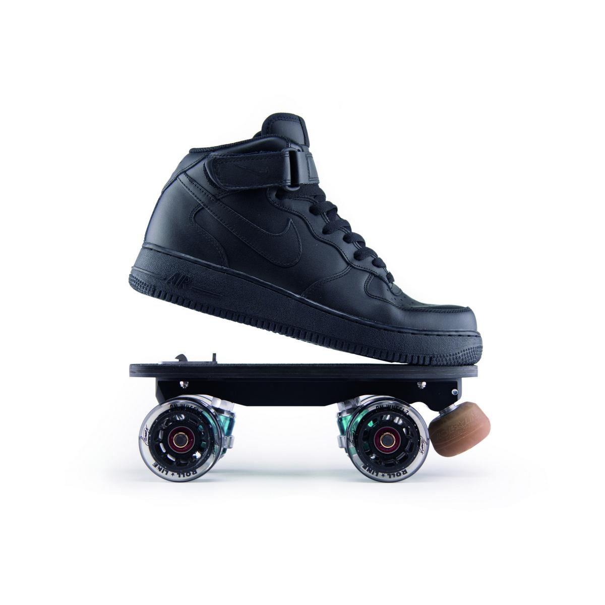 Clip-out roller-skates: Flaneurz X Veja