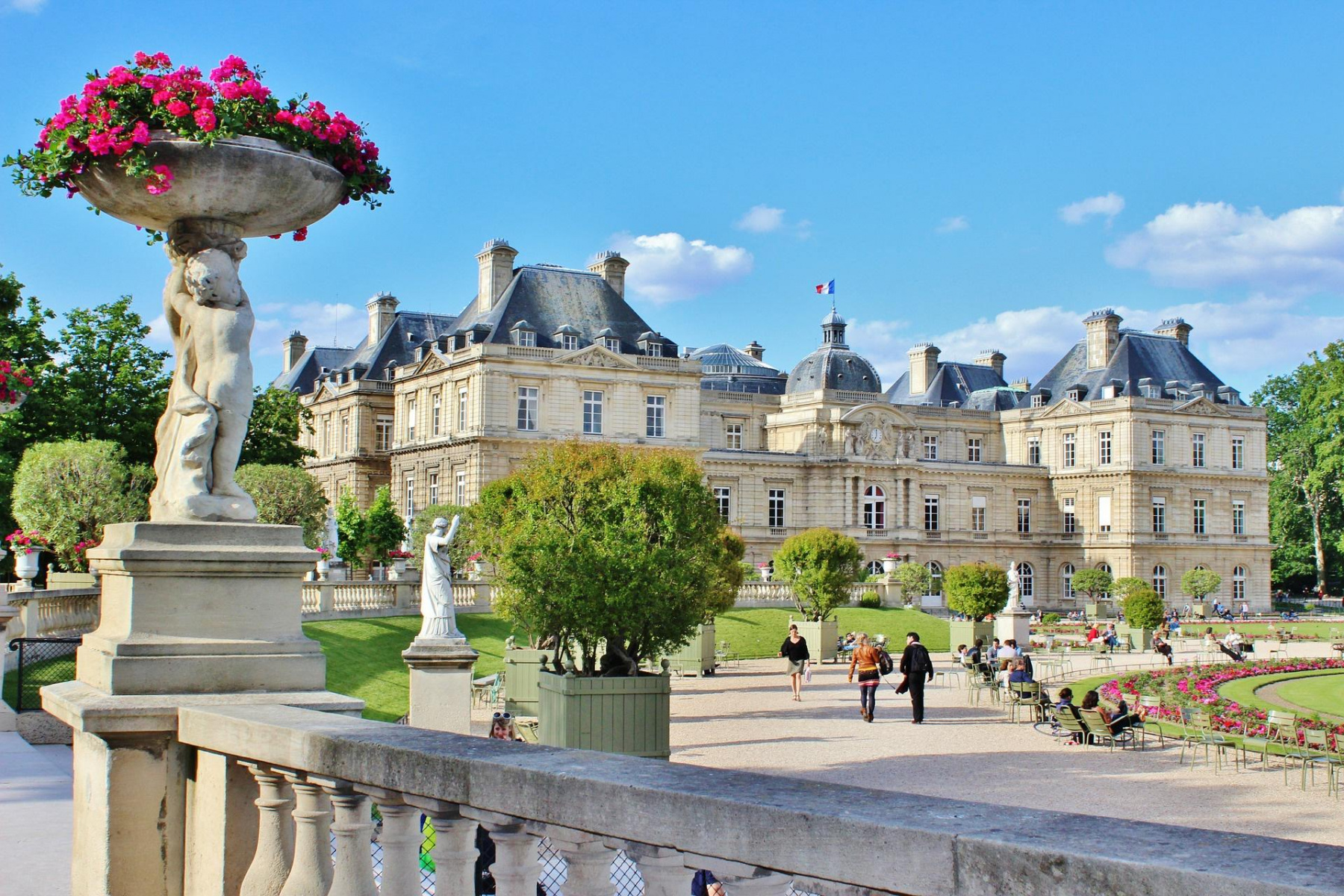 The Jardin du Luxembourg in Paris, a botanical masterpiece ...