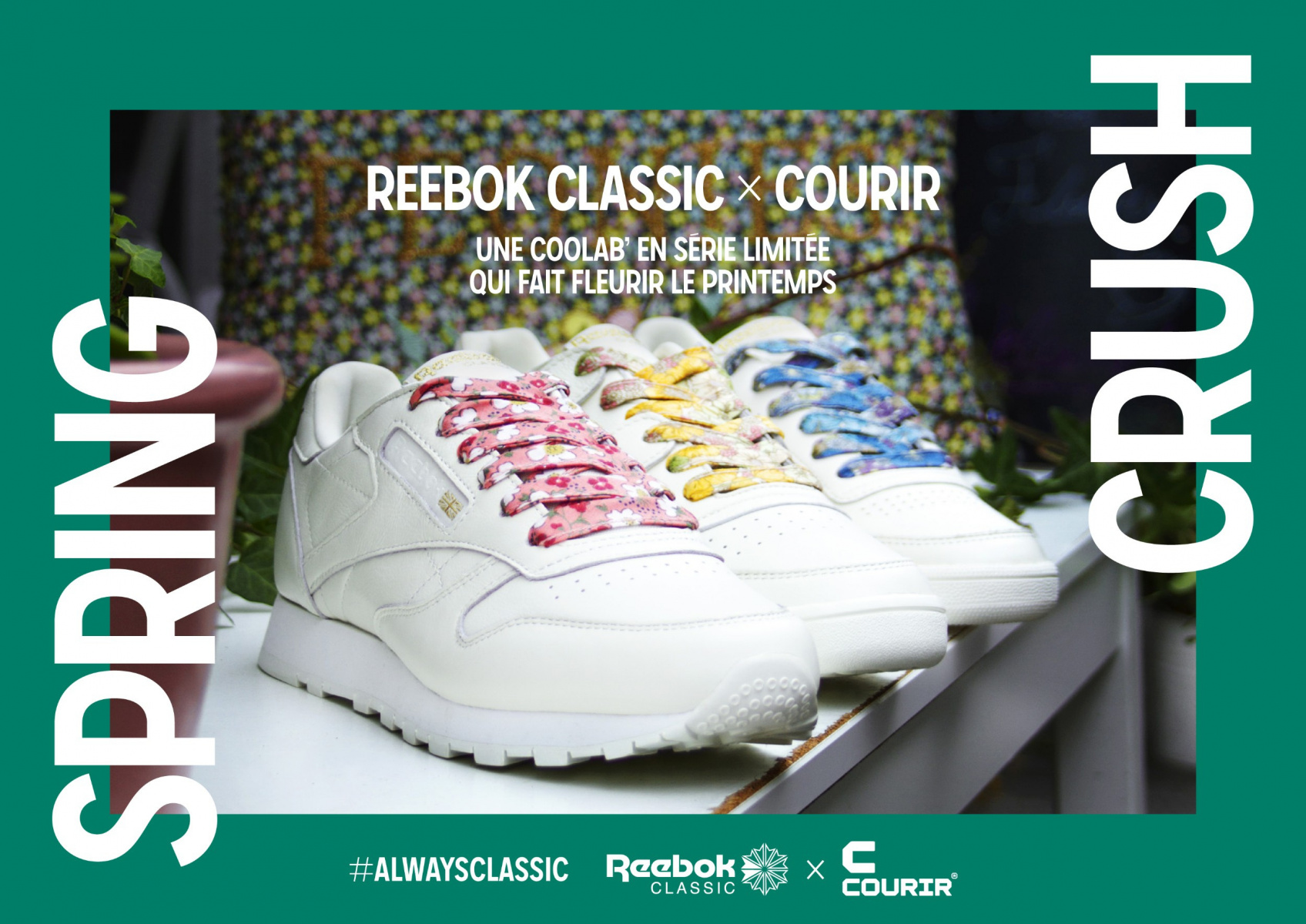Spring crush by Reebok x Courir : la nouvelle collab mode du