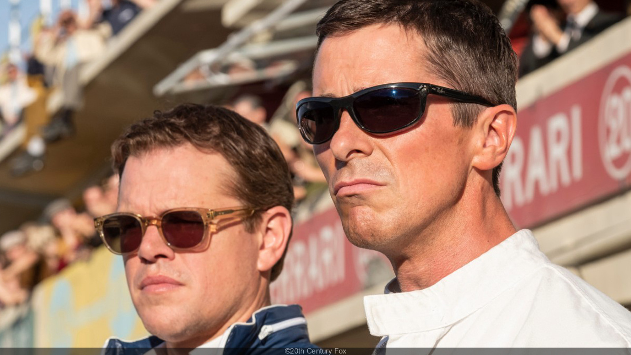 Un trailer avec Matt Damon et Christian Bale — Ford contre Ferrari