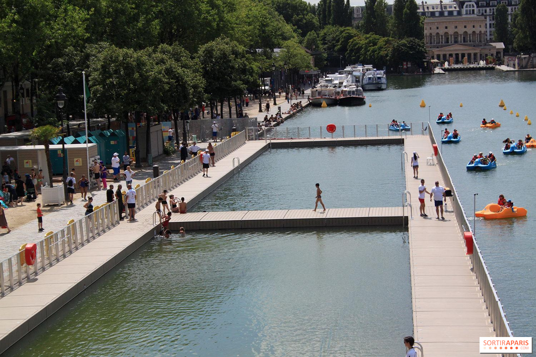 paris plages 2019: la baignade gratuite du bassin de la