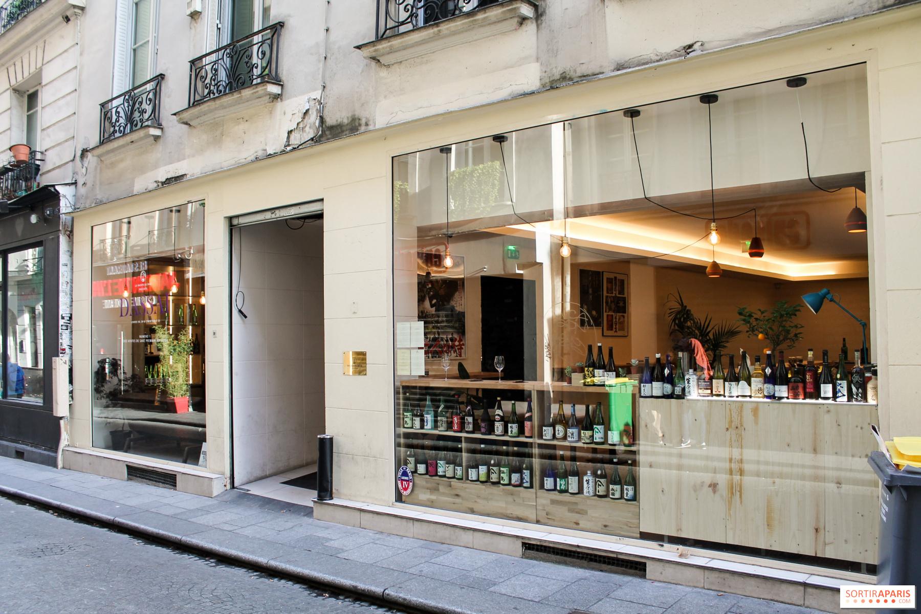 ERH: Maison du Saké new elegant restaurant in Paris ...