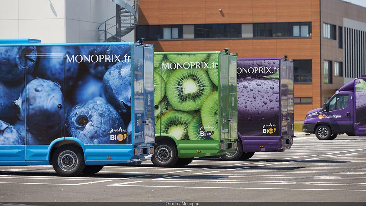 Monoprix lance son nouveau service de livraison à domicile