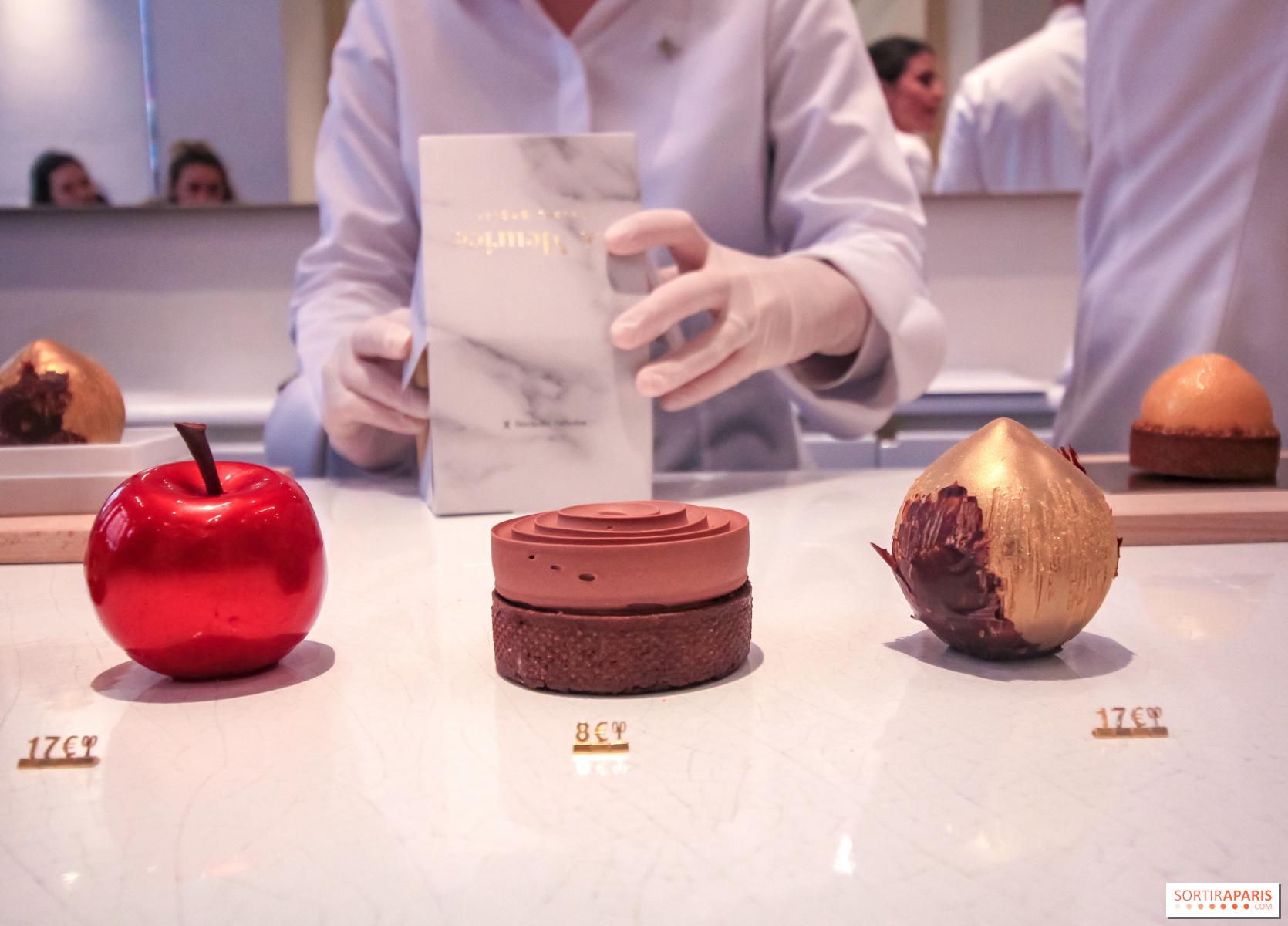 Ouverture de la pâtisserie de Cédric Grolet, chef pâtissier