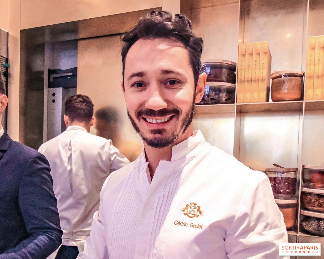 Cédric Grolet fête les 1an de sa pâtisserie avec un week,end