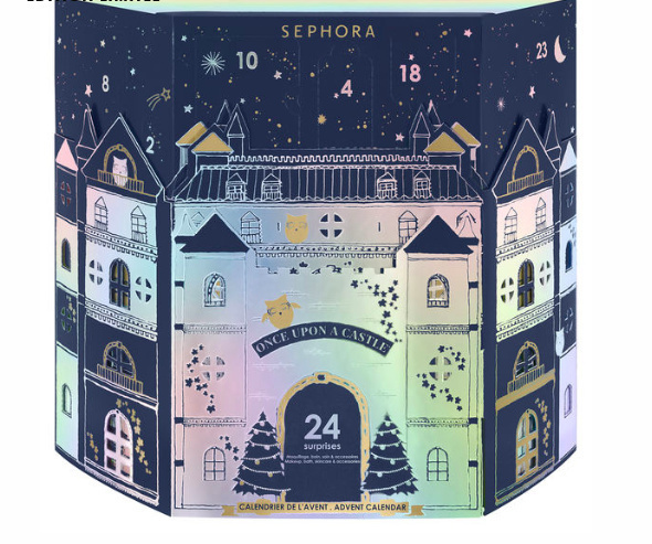 Calendrier Avant Sephora.Le Calendrier De L Avent 2019 De Sephora Sortiraparis Com