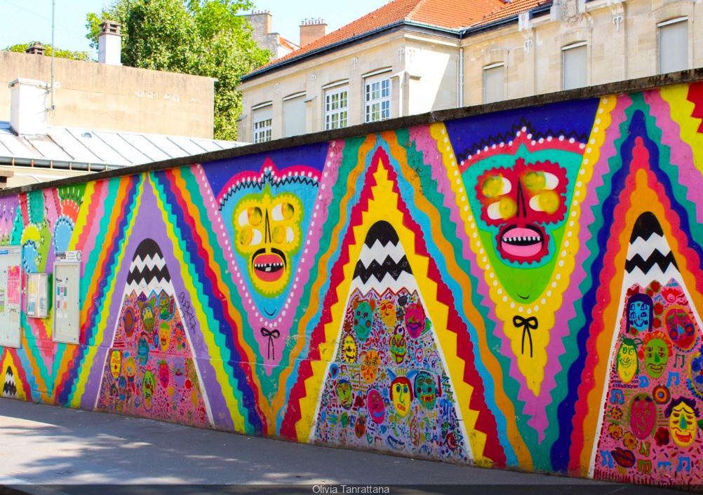 La Butte Aux Cailles Photos visite guidée sur le street-art à la butte-aux-cailles