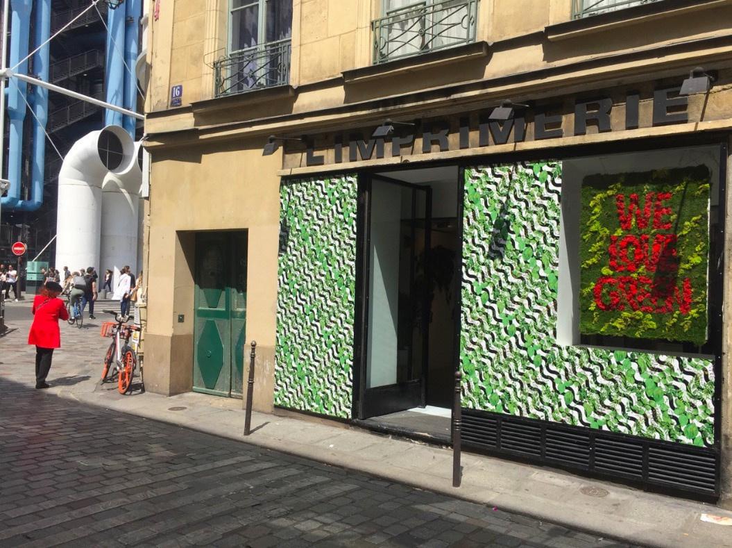 Imprimerie De L Ouest Parisien un pop-up store we love green à l'imprimerie - sortiraparis