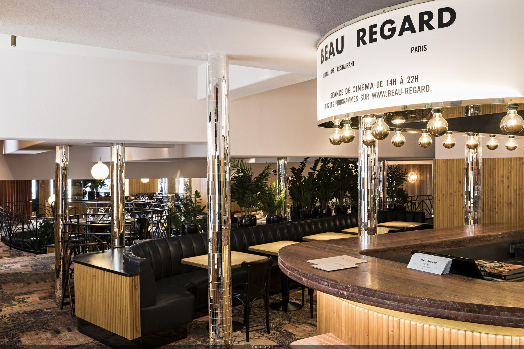 Beau Regard, restaurant, bar et cinéma à Saint-Germain-des-Prés