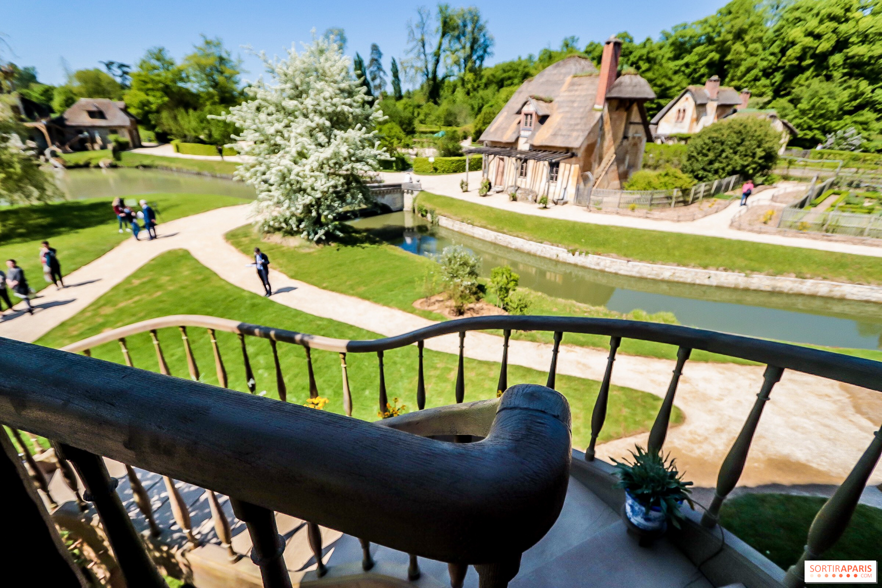 La Maison de la Reine rénovée au Château de Versailles - Sortiraparis.com