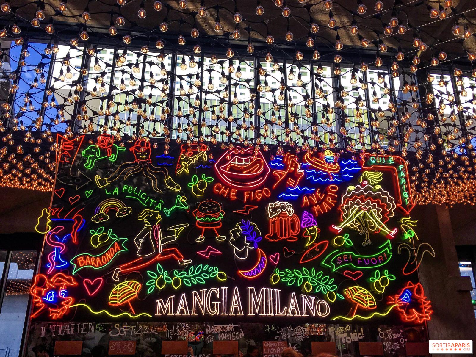 La Felicità: Big Mamma XXL restaurant in Paris Station F