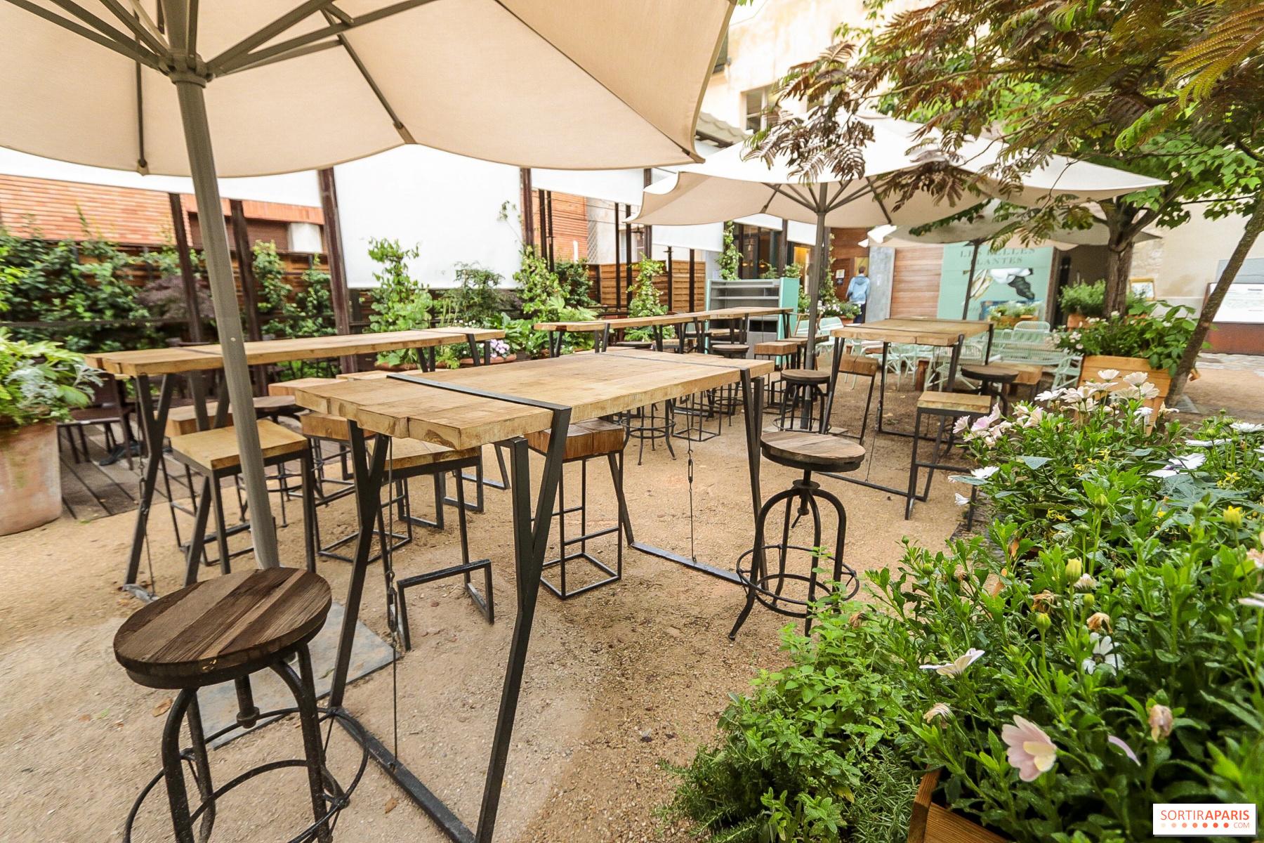 Les Belles Plantes, restaurant-terrasse du Jardin des ...