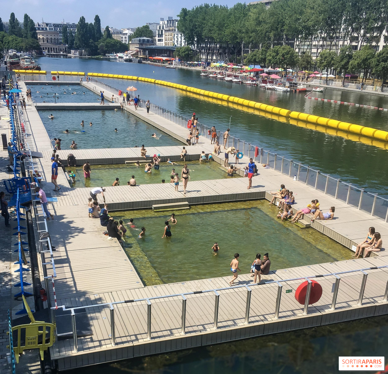 Swimming and Beach Areas in Paris and Ile-de-France this summer ...