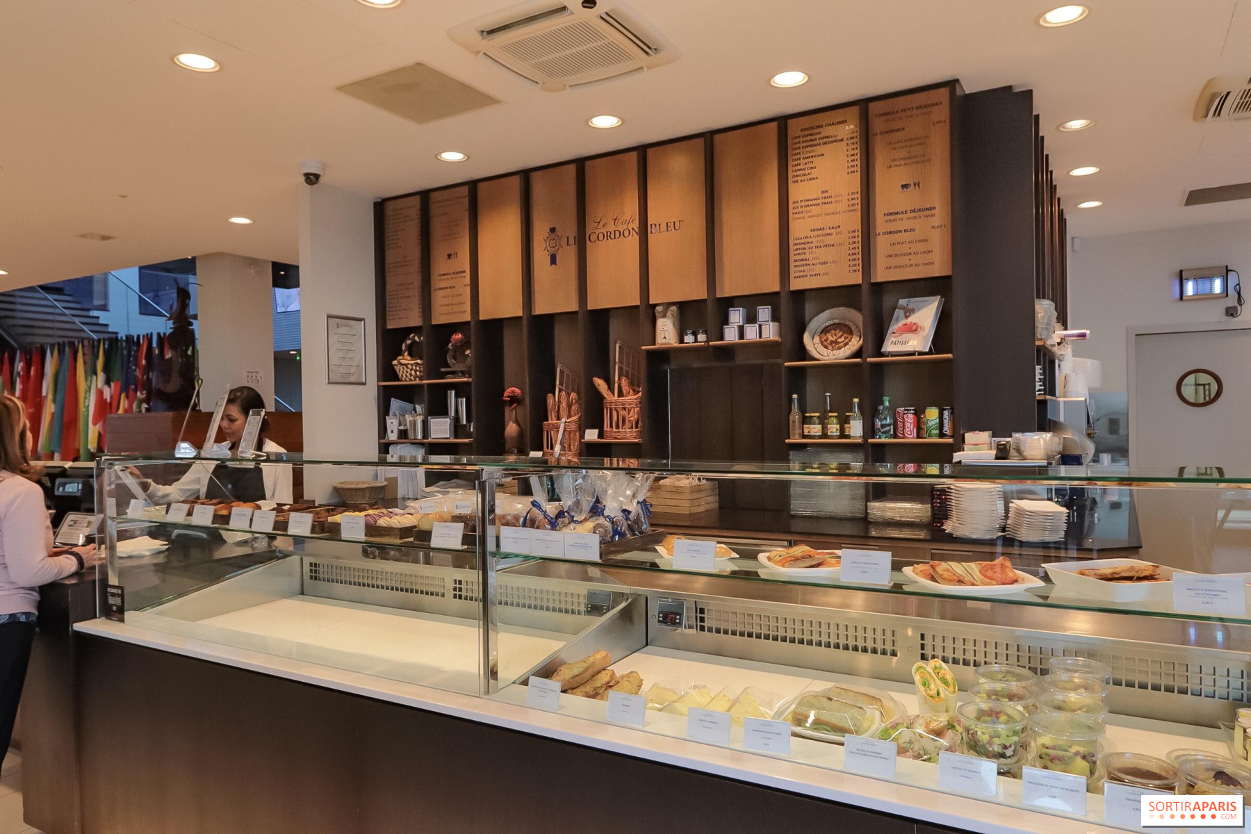 Le Cafe Le Cordon Bleu Patisserie And Cafe Opened To All