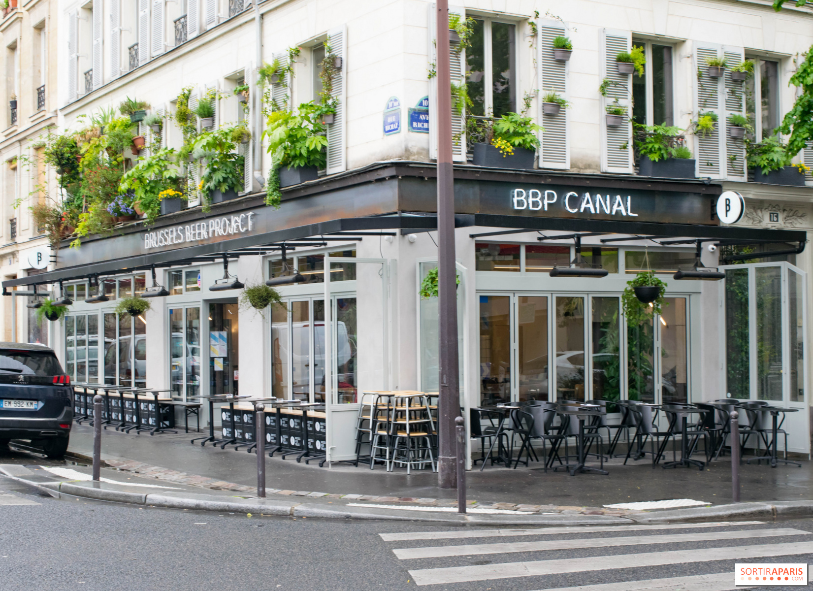 Terrasse Canal Saint Martin bbp canal: new beer bar and restaurantbrussels beer