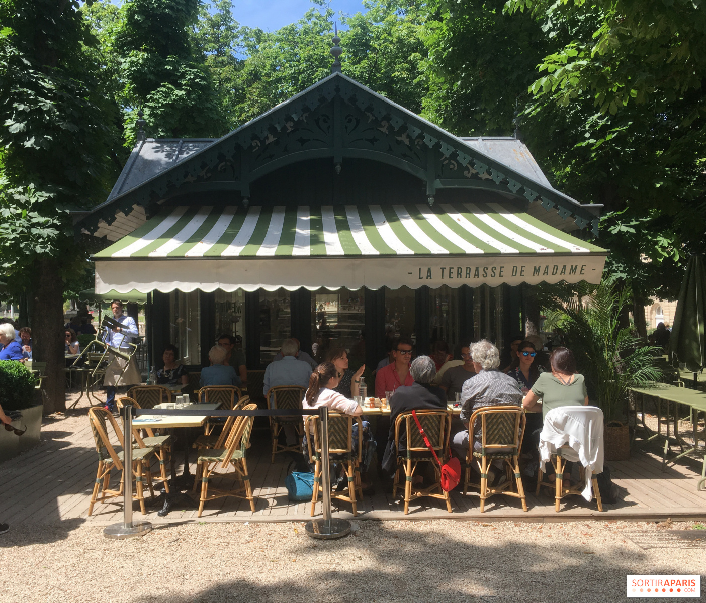 La Terrasse de Madame, un nouveau restaurant au coeur du ...