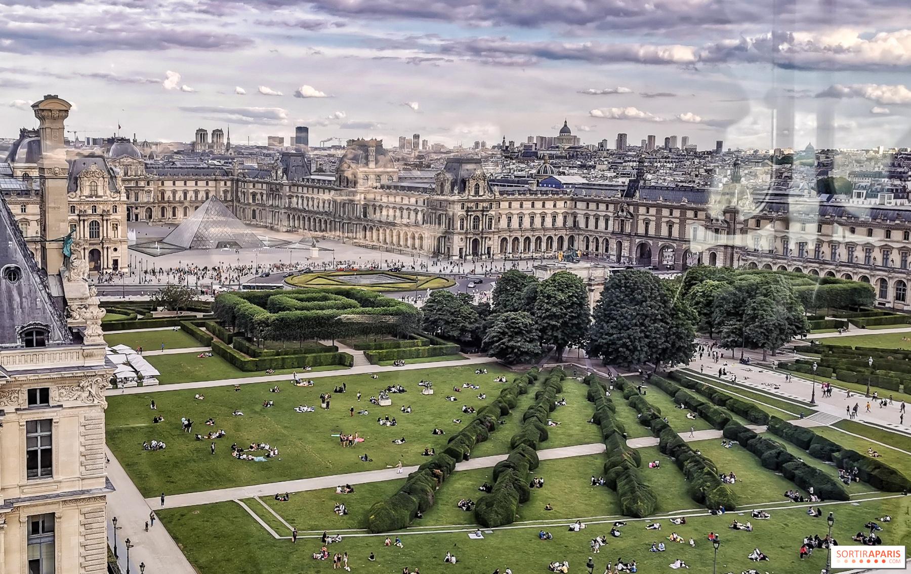 Journées du Patrimoine 2019 à Paris : jardin des Tuileries ...