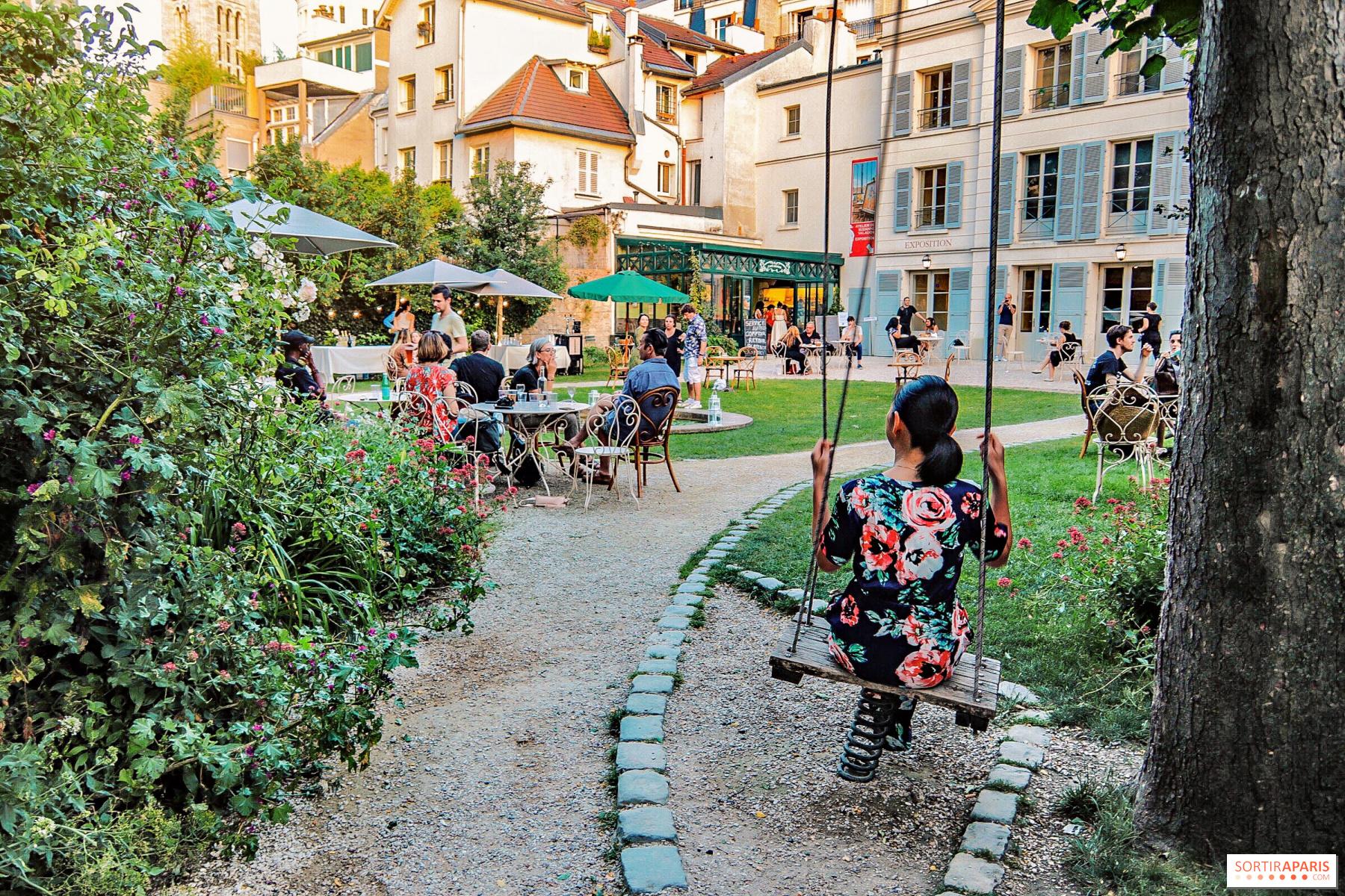 Café Renoir, Musée de Montmartre summer terrace ...