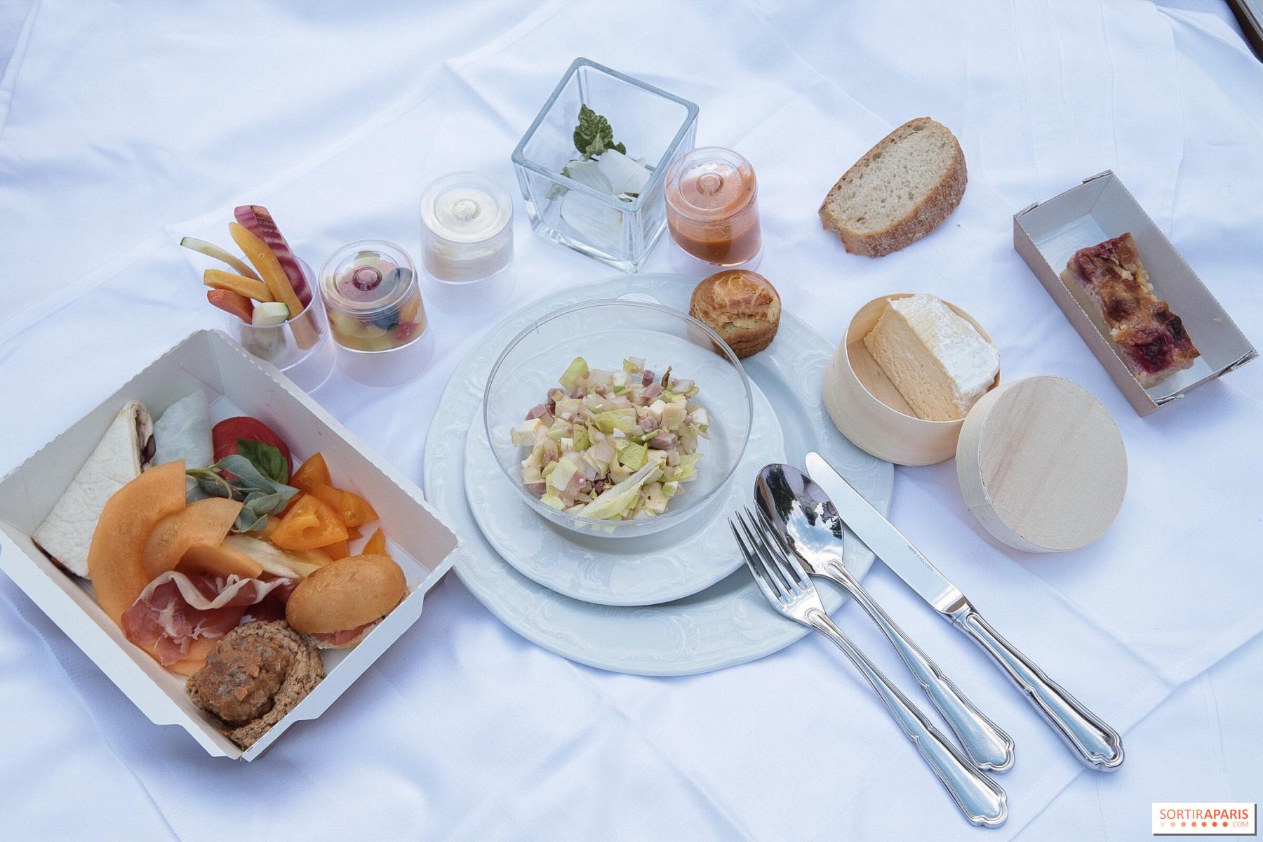 Harmony Cuisine Saint Julien white picnic at the domaine de chantilly - sortiraparis