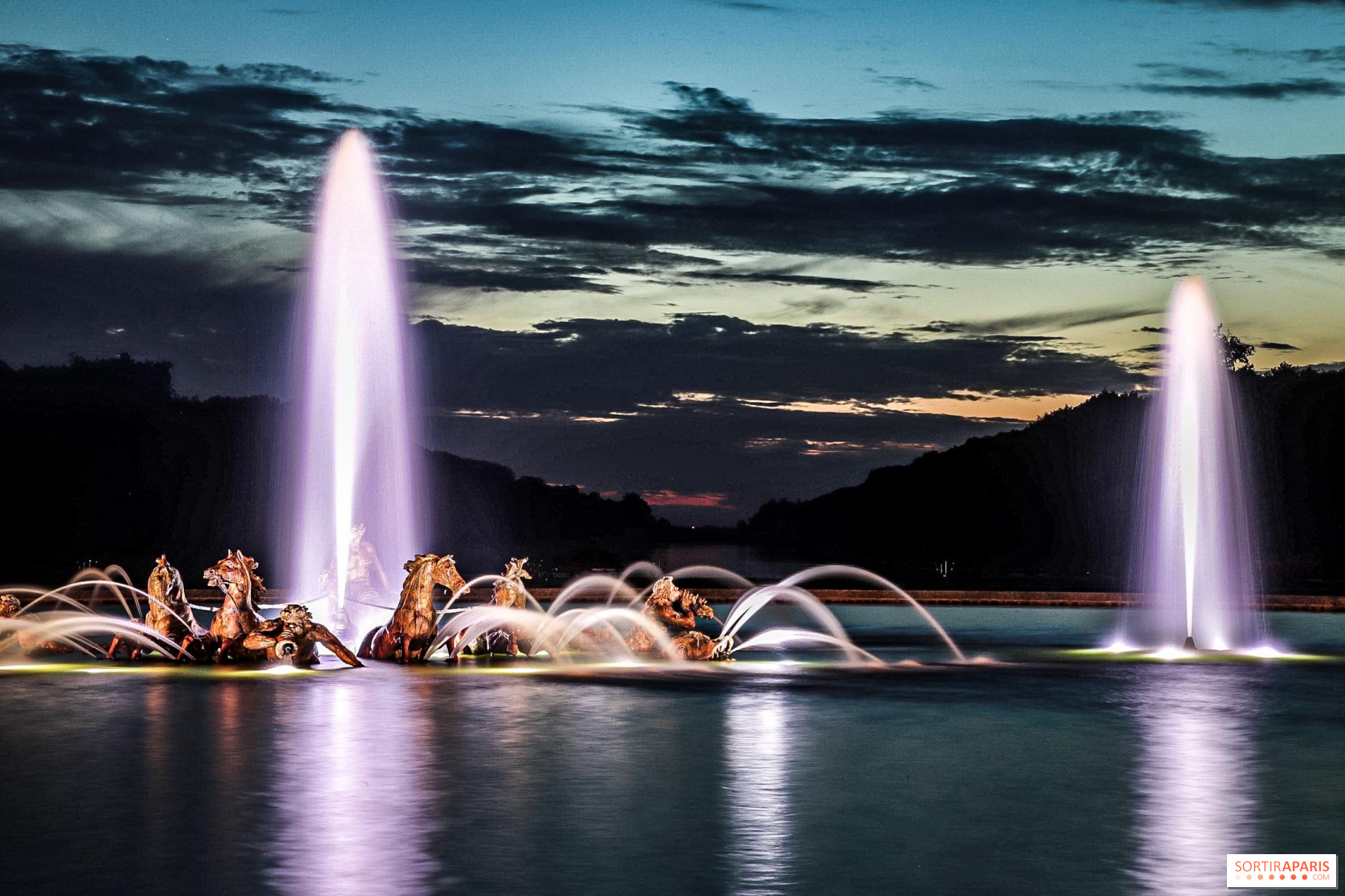 Versailes Christmas Market 2020 Night Fountains Shows 2020 at the Palace of Versailles
