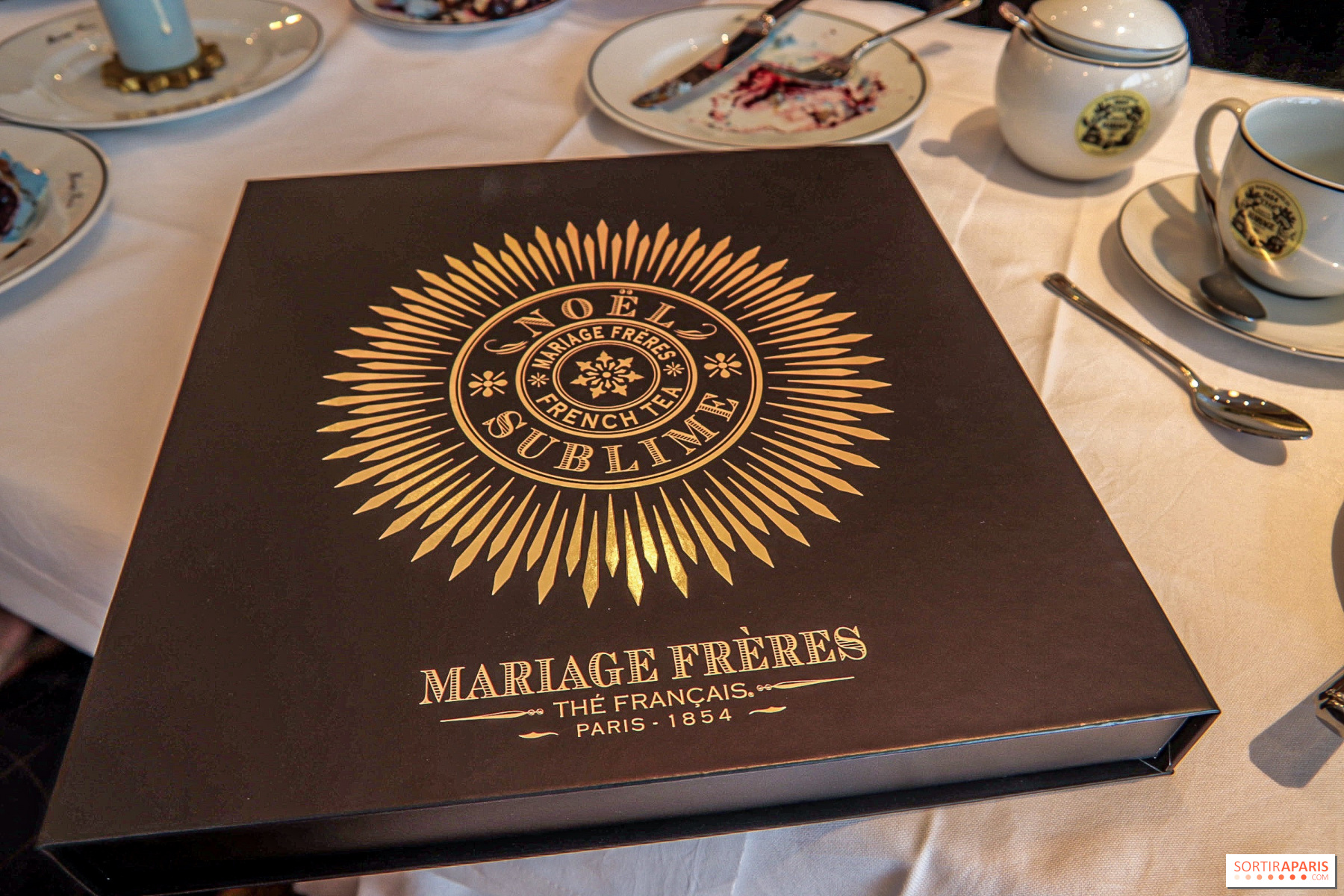 Calendrier Avant Mariage.Buches Et Thes De Noel Mariage Freres 2019 Sortiraparis Com