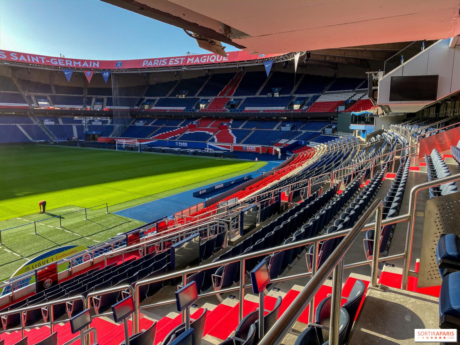 Psg Experience Exclusive Tour Of The Vip Area And The Galerie At Paris Parc Des Princes Stadium Sortiraparis Com