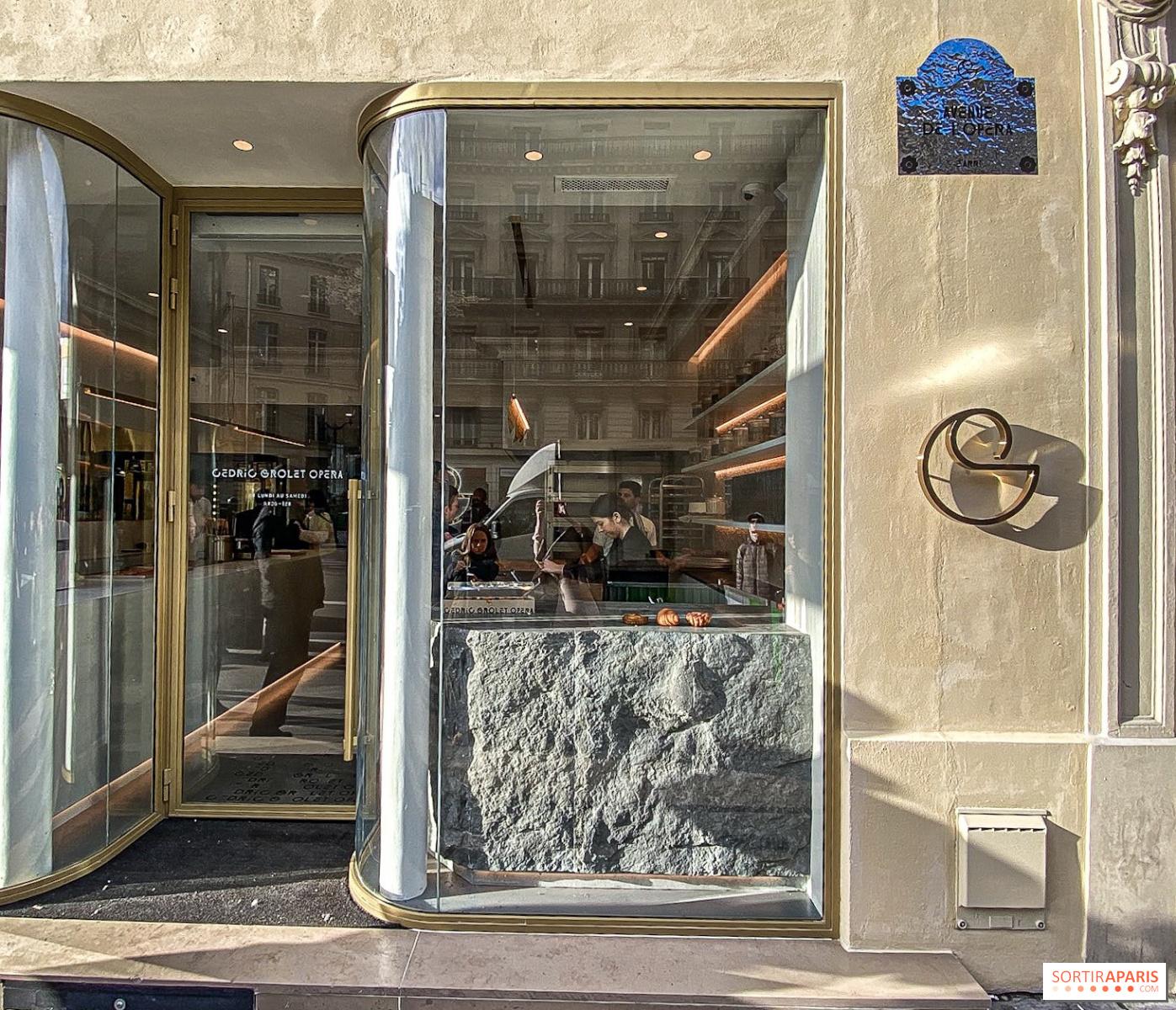Ouverture de Cédric Grolet Opéra, la boulangerie,pâtisserie