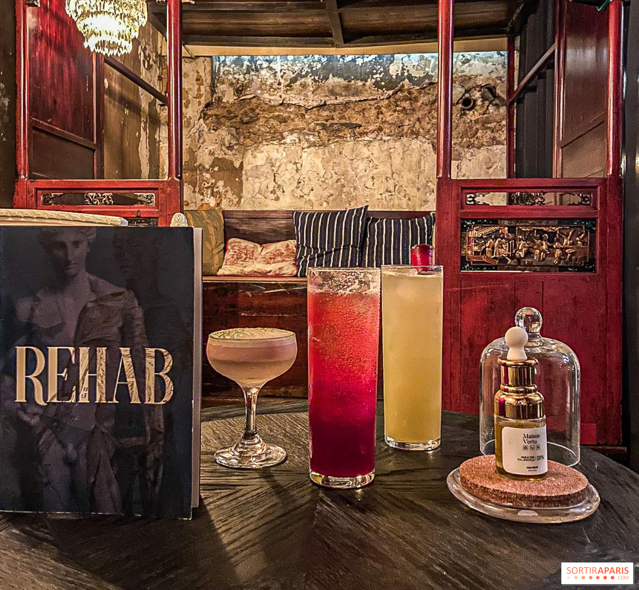 Rehab The Cbd Based Cocktail Bar In Paris Reopens Video Sortiraparis Com