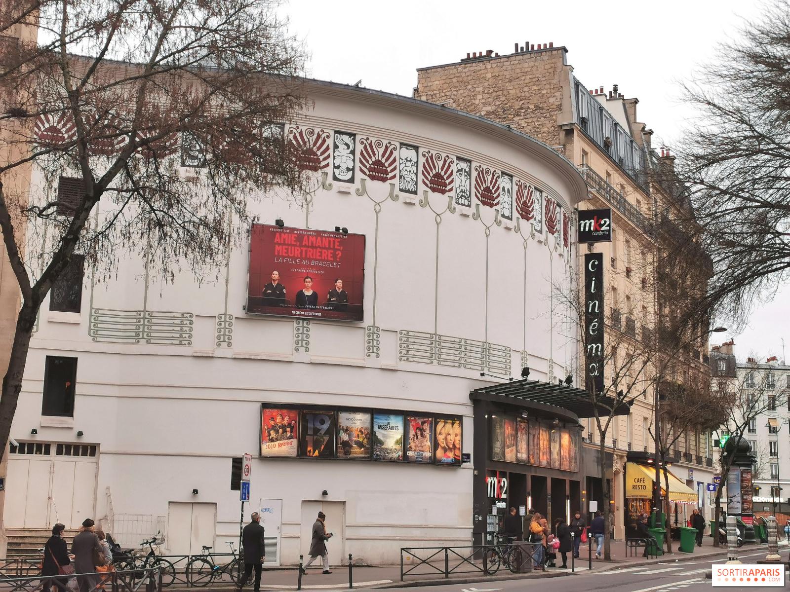 Mk2 Gambetta Un Cinema A L Architecture Atypique A Paris