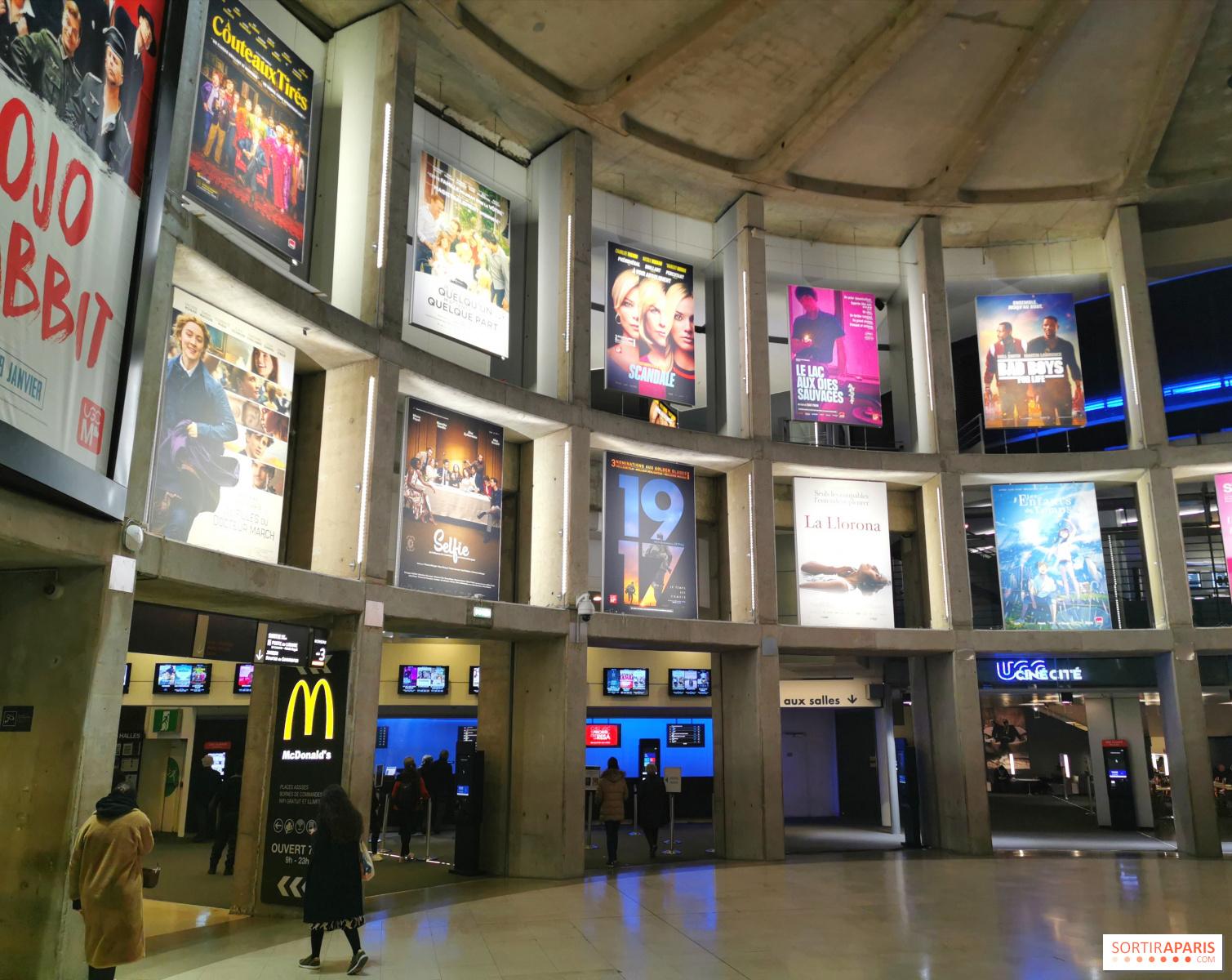UGC Ciné Cité les Halles : le plus grand cinéma de Paris