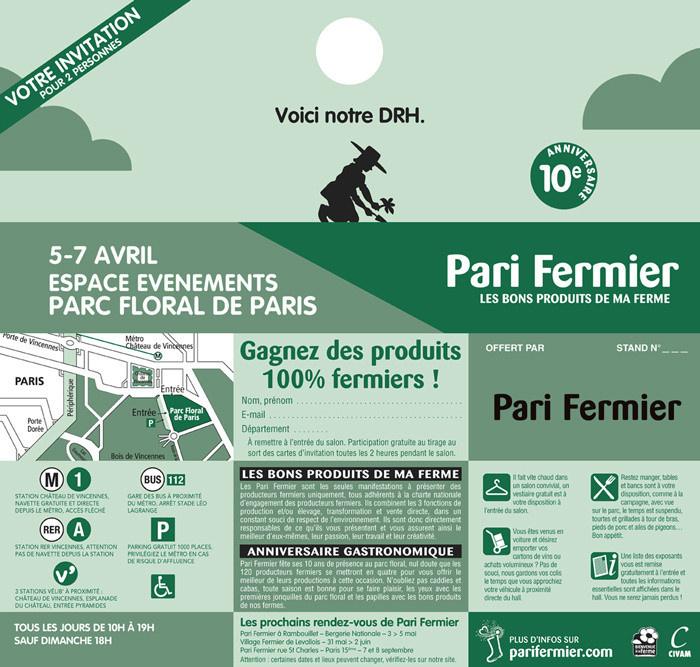 Album photos paris fermier de printemps au parc floral - Salon de l agriculture invitation gratuite ...