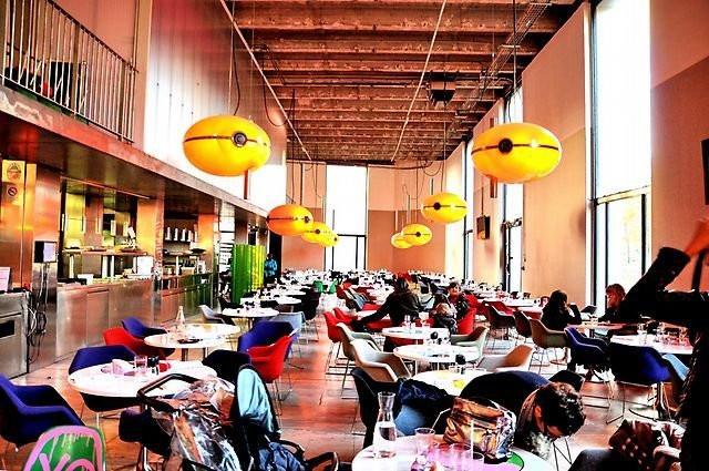 Tokyo Eat Palais de Tokyo Restaurant du Palais de Tokyo