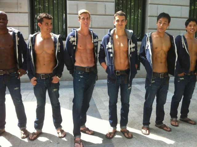 Abercrombie And Fitch Mannequins Mannequins Abercrombie