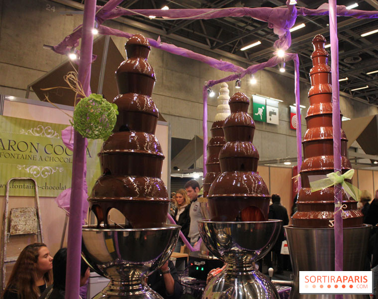 photo salon du chocolat 2013 fontaine de chocolat. Black Bedroom Furniture Sets. Home Design Ideas