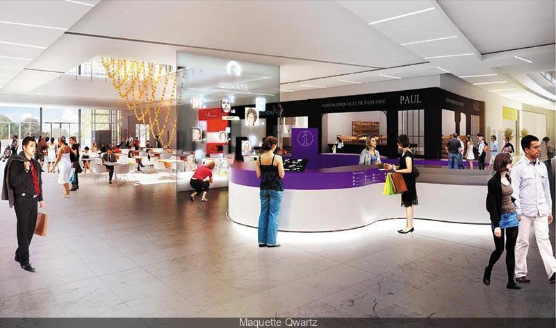Photo ouverture centre commercial qwartz centre - Nouveau centre commercial roncq ...