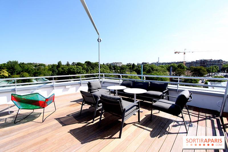 Villa Molitor Terrasse : Photo Molitor terrasse rooftop Molitor piscines