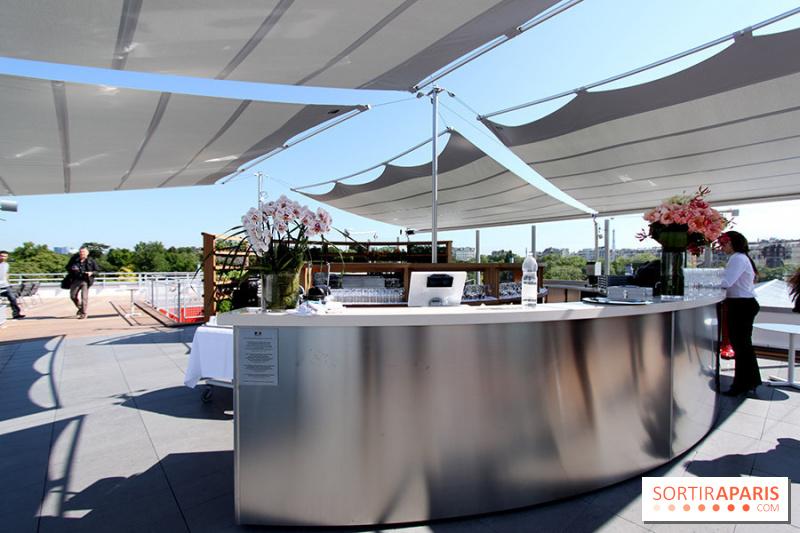 Photo Molitor terrasse rooftop Molitor piscines