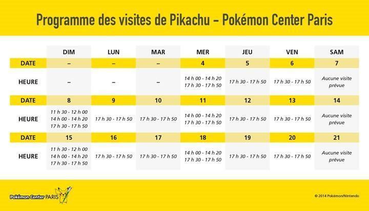 Pokemon center paris - Pokemon famille pikachu ...