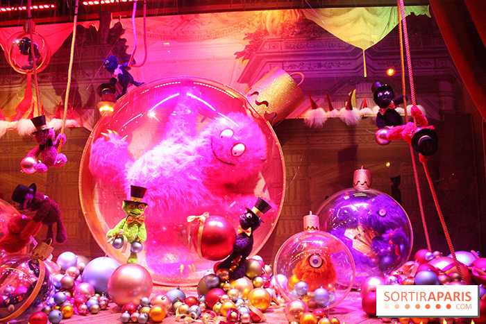 Photo illuminations et vitrines 2014 des galeries lafayette lancement des illuminations et des - Vitrines galeries lafayette 2016 ...