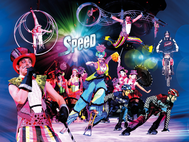Holiday on Ice 2012 : SPEED