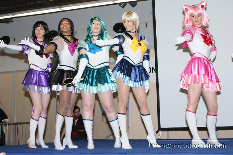 Photo salon paris manga sci fi show cosplay salon for Salon du manga paris juillet