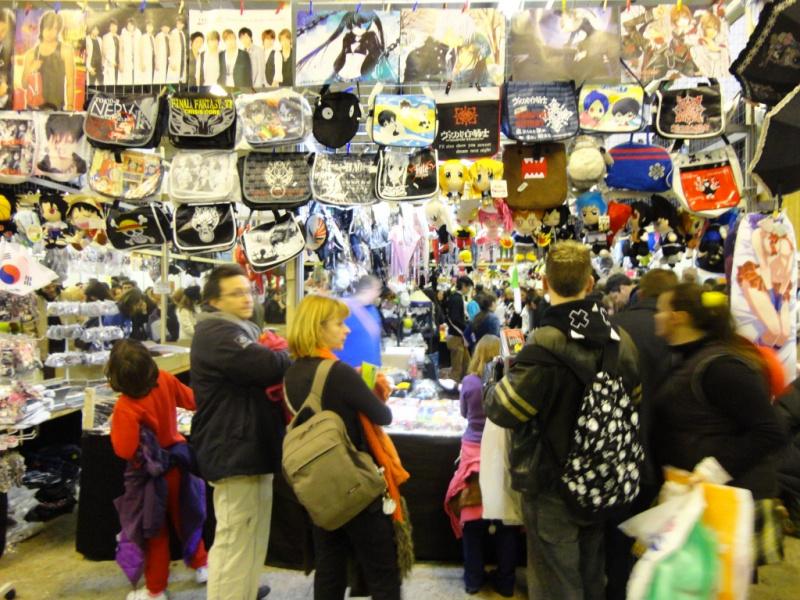 Photo paris manga sci fi show 2012 stand goodies for Salon manga paris
