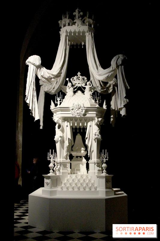 Le Roi est Mort, l'exposition au Château de Versailles