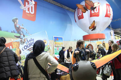 Photo stand lu salon de l 39 agriculture 2012 le salon de for Place gratuite salon de l agriculture