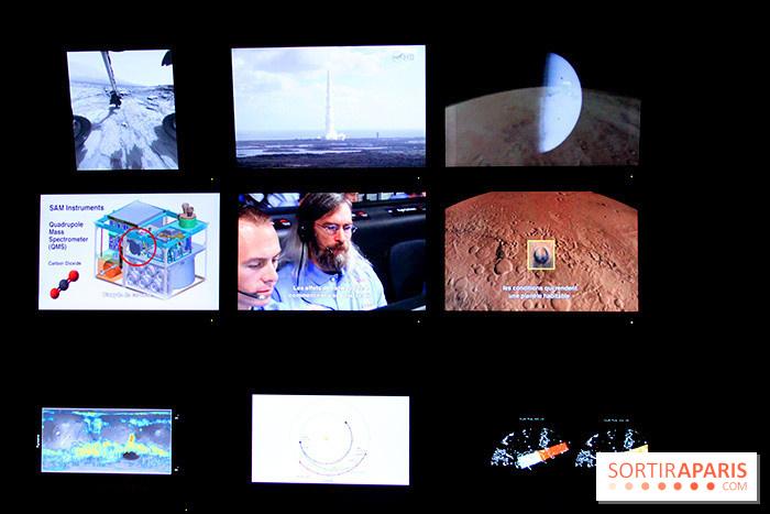 Photo 3 explorez mars l 39 expo au palais de la d couverte for Expo paris mars